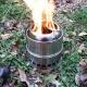 Походная печка Щепотница цилиндрическая