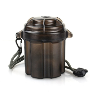 Водостойкий контейнер для батареек 18650 и мелочи EDC Gear