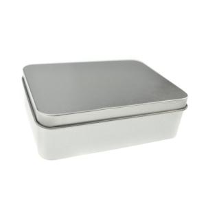 Жестяная коробочка с крышкой (3 размера)