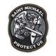 Патч Велкро Saint Michael Protect Us