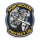 Патч Архангел Михаил Saint Michael Protect Us
