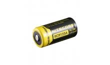 Аккумулятор Nitecore RCR123A 650 mAh NL166