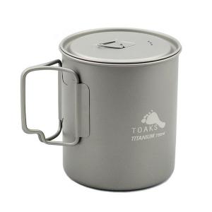 Титановая кружка Toaks Titanium 750 ml