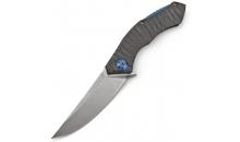Нож Широгоров Получеткий Titanium Tiger Stripe (Replica)