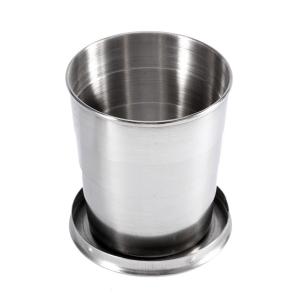 Стальной складной стакан