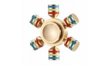 Латунный спиннер UTOO EDC Colored Snowflake