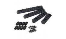 Набор планок MOE Polymer Picatinny/Weaver TK-108 (4 размера)
