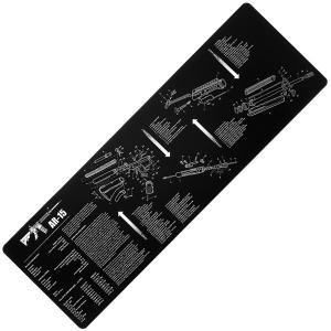 Неопреновый рабочий коврик REM 870 / AR-15 / AK-47