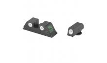 Тритиевый целик и мушка Meprolight Tru-Dot для Glock 9 mm, .357 SIG и др.