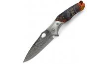 Нож Damascus Colorful Flipper TC033