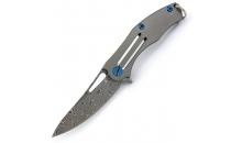 Брелочный нож Темный Titanium D2