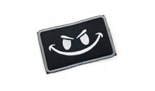 Патч Velcro Evil Smiley Face
