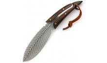 Нож Feather Custom Damascus