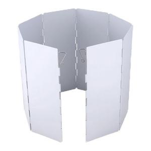 Защита от ветра для полевых горелок (8 секций, 24 см)