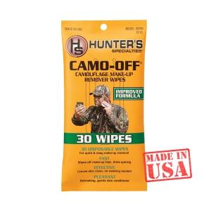 Влажные салфетки Hunters для удаления военного грима