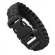 Паракордовый браслет со свистком (Black)