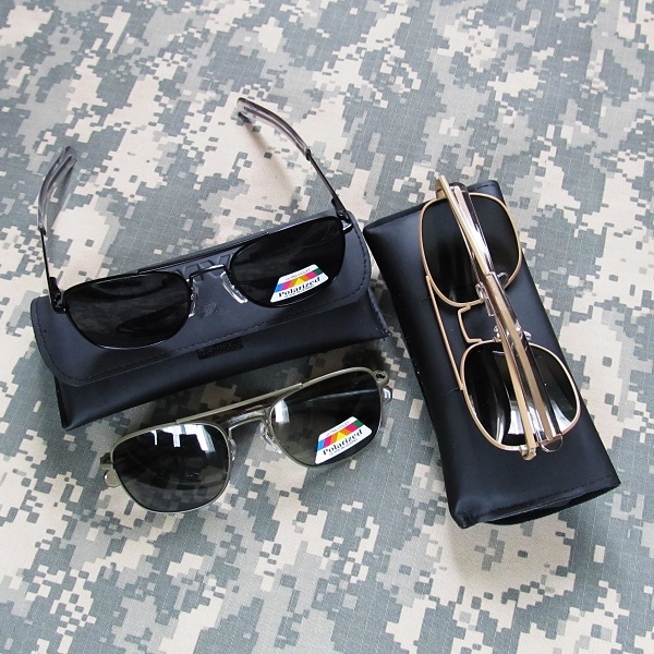 Купить Солнцезащитные очки-авиаторы Humvee Military Pilot - доставка ... 3d0b6bffdbdee