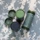 Военный грим-стикер NATO Camo Jungle (Black & Olive Drab)