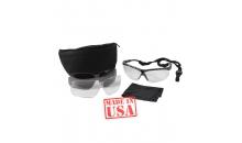 Тактические баллистические очки Uvex Genesis Military Kit