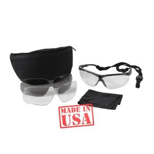 Тактические баллистические очки Uvex Genesis Spectacle Kit