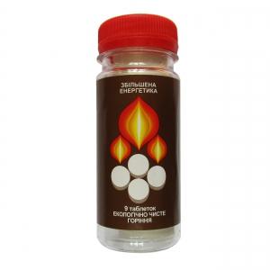 Сухое горючее БИОН в герметичной упаковке (сухой спирт)