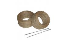 Вощеная нить для Speedy Stitcher 55 м (+ 2 прямые иглы)