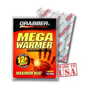 Химический обогреватель для рук Grabber Mega (12 часов)
