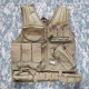 Тактический разгрузочный жилет Rothco Cross Draw MOLLE
