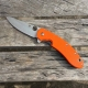 Нож Spyderco Brad Southard Flipper C156 (Replica) Orange