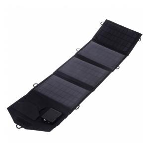 Складная солнечная зарядка Shining 14 Вт (4 секции)