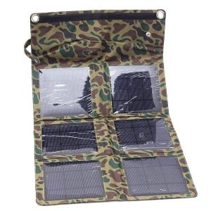 Складное солнечное зарядное устройство 18 Вт (6 секций)