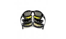 Тактические очки Daisy C5 Desert Storm (4 комплекта линз)