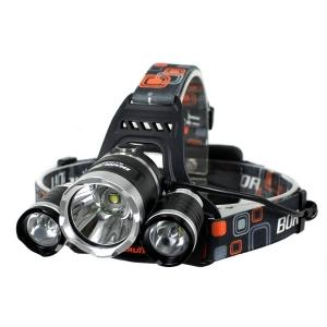 Налобный фонарь Boruit RJ-3000 (T6 +2R2)