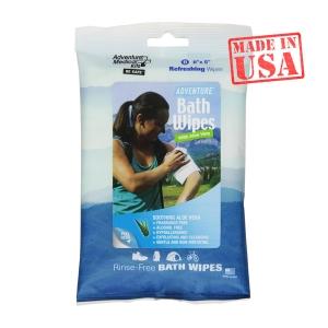 Влажные салфетки для тела Adventure Bath Wipes