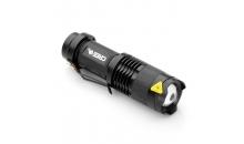 Фонарик с зумом UltraFire SK68 CREE Q5-XPE AA5 500 Lm (Черный)