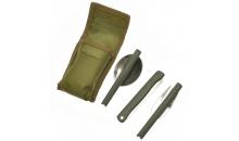 Походный столовый набор (ложка вилка, нож)