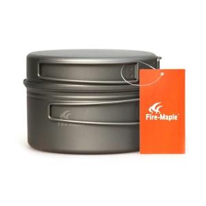 Набор туристической посуды из титана Fire-Maple Horizon 1