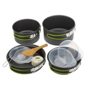Набор туристической посуды DS-301 (для 3 персон)