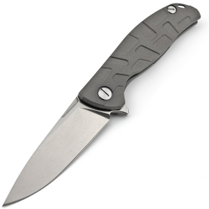 "Нож Широгоров Флиппер 95 узор ""Т"" Titanium D2 (Replica)"