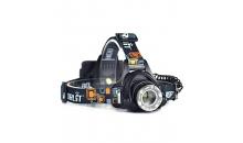 Налобный фонарь фокусируемый Boruit 2181H CREE L2 900 lm
