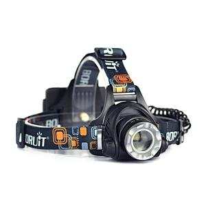 Налобный фонарь фокусируемый Boruit 2181H (L2)