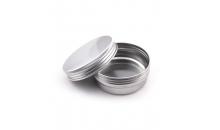 Круглая жестянка из алюминия для мелочи