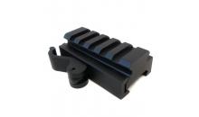 Быстросъемное крепление-подъемник Пикатинни/Вивер 21 мм
