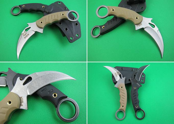 Китайская копия ножа Fox Karambit