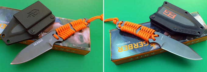 Китайская реплика ножа Gerber Bear Grylls Survival Paracord Knife (Replica)